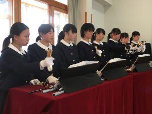 芦屋教会 広島三育学院中学校ハンドベル 音楽礼拝 @ 芦屋教会   芦屋町   福岡県   日本