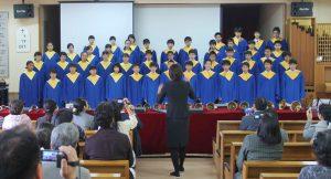 広島三育学院中学校聖歌隊 @ 高知教会 | 高知市 | 高知県 | 日本