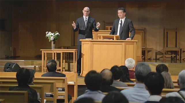 テッド・ウィルソン世界総会総理 特別集会のご案内 @ 大阪センター教会 | 大阪市 | 大阪府 | 日本