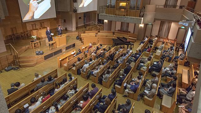 東日本教区「キボウのトビラ講演会」特別祈祷会レポート