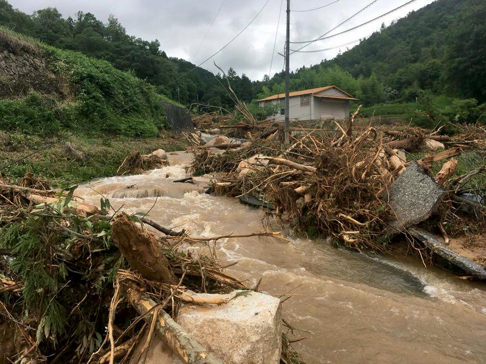 西日本豪雨災害 被災者の皆様へのお見舞い
