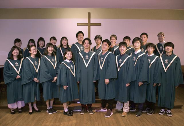 三育学院教会クリスマス音楽礼拝